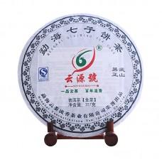 2012, Иушань оригинальный, 357 г/блин, шэн, ч/ф Юньюань Хао