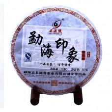 2012, Впечатление от Мэнхая, 357 г/блин, шэн, ч/ф Юньюань Хао
