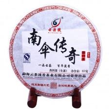 2012, дер. Наньсан, 357 г/блин, шэн, ч/ф Юньюань Хао