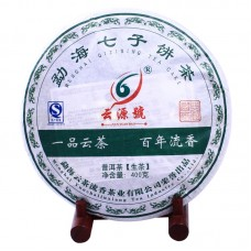 2012, Сокровища Эпохи, 400 г/блин, шэн, ч/ф Юньюань Хао