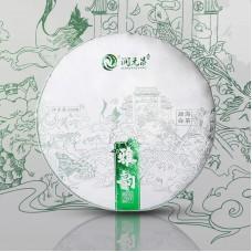 2021, Райский уголок, 300 г/блин, белый чай, ч/ф Жуньюань Чан