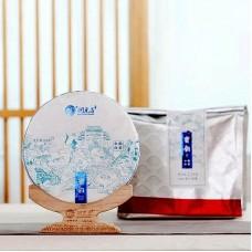 2020, Медовый аромат, 300 г/блин, белый чай, ч/ф Жуньюань Чан