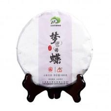 2018, Шепот бабочки, 400 г/блин, белый чай, ч/ф Лимин