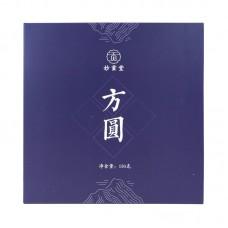 2019, Изящество Фудина (шоумэй), 150 г/блин, белый чай, ч/ф Мяогунтан