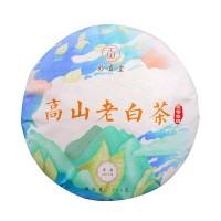 2019, Шоумэй (лист 2017), 300 г/блин, белый чай, ч/ф Мяогунтан