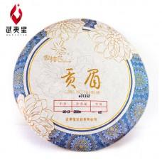 2013, Шоумэй из Фудина, класс 1, 350 г/блин, белый чай, ч/ф Уи Син