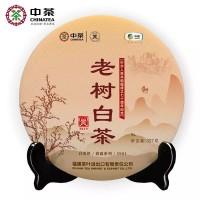 2019, 5901 старые деревья, 357 г/блин, белый чай, ч/ф Чжунча