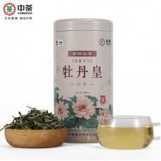 2017, Альфа-пион (5125), 100 г/банка, белый чай, ч/ф Чжунча
