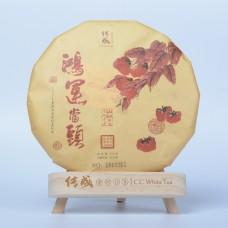 2015, Шоумэй особый, 300 г/блин, белый чай, ч/ф Чуаньчэн