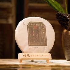 2013, 9518, Баймудань класс 1, стар.деревья, 300 г/блин, белый чай, ч/ф Чуаньчэн