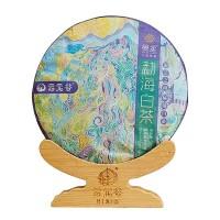 2019, Мэнсун, 300 г/блин, белый чай, ч/ф Юньюаньгу