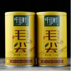 2018, Маоцзянь из Синьяна (пров. Хэнань), 125 г/банка, зелёный чай, ч/ф Цяньшань Е