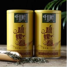 2018, Билочунь, 125 г/банка, зелёный чай, ч/ф Цяньшань Е