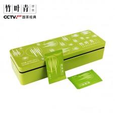 2017, Эмэйшань классический, 208 г/коробка, зелёный чай, ч/ф Чжуецин