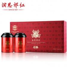 2017, Высшая Награда, 150 г/коробка, красный чай, ч/ф Жуньсы Кимун