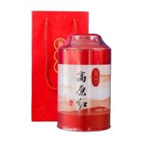2017, Выскогорный чай, гунфу, 250 г/банка, красный чай, ч/ф Ланьцан