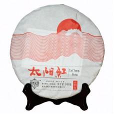 2015, Белое Солнце Юньнани, 388 г/блин, красный чай, ч/ф Машиши