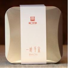 """2017, Лист дороже золота (""""Шумное время""""), 78 г/коробка, красный чай, ч/ф Пумэнь"""