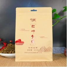 2019, Золотые спирали, 400 г/пакет, красный чай, ч/ф Цяньшань Е