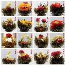 2018, Ассорти из 20 видов, связанный чай, зиплок-пакет, 100 г
