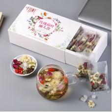 2017, Луговой сбор, 220 г/коробка, цвет. чай, ч/ф Цяньшань Е