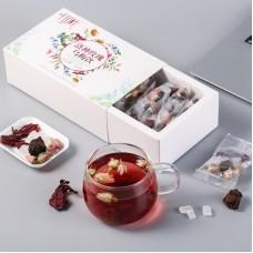 2017, Луговой сбор, 200 г/коробка, цвет. чай, ч/ф Цяньшань Е