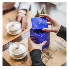 2017, В волнах аромата Жасмина, 54 г/коробка, цвет. чай, ч/ф Чжуецин