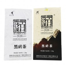 2019, Цветочный аромат, 2 кг/кирпич, чёрный чай, ч/ф Байшаси