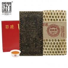 2019, Плетёный туесок, 2.5 кг/кирпич, чёрный чай, ч/ф Байшаси