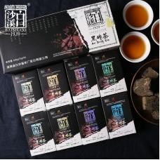 2018, Отборное сырьё, 600 г/кирпич, чёрный чай, ч/ф Байшаси