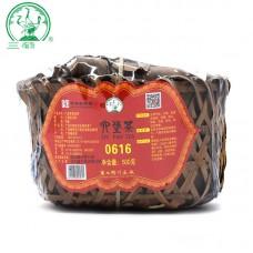 2018, 0616, любао из пров. Гуаньси, 500 г/шт, чёрный чай, ч/ф Саньхэ