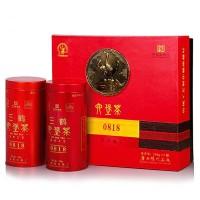 2019, 0818, любао пров. Гуанси, 400 г/коробка, чёрный чай, ч/ф Саньхэ