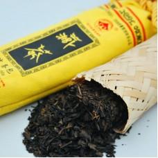 2016, Бамбуковая сумка, 150 г/шт, чёрный чай, ч/ф Цзисян Цан