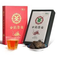 2019, Запасы мудрой Мыши, лао чатоу, HT2268, 1 кг/коробка, чёрный чай, ч/ф Чжунча