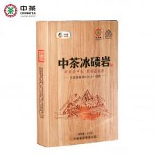 2018, Чайная глыба, 1 кг/кирпич, чёрный чай, ч/ф Чжунча