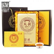 2017, Дар Небес (чёрн.чай), 2,017 кг/коробка, шу, ч/ф Байшаси