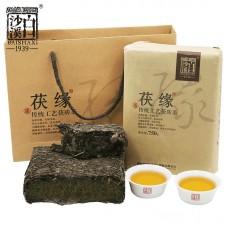 2017, Цзиньхуа (чёрн.чай), 750 г/кирпич, шу, ч/ф Байшаси