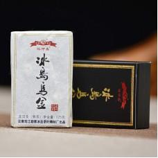 2019, Чёрное золото Биндао (8*125 г), 1 кг/кирпич, шу, ч/ф Бинчжун Дао