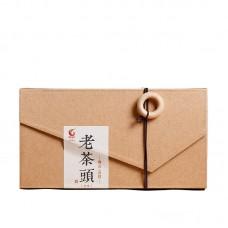 2016, Лао Чатоу, 100 г/коробка, шу, ч/ф Гоянь