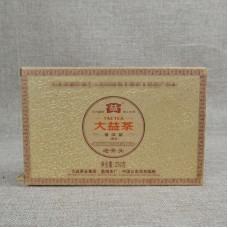 2011, Лао Чатоу, 250 г/кирпич, шу, ч/ф Даи