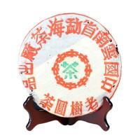 2001, Мэнхайская фабрика, 357 г/блин, шу, ч/ф Даи