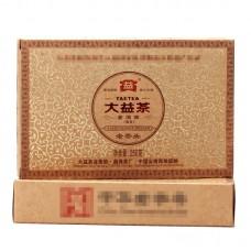 2012, Лао Чатоу, 250 г/кирпич, шу, ч/ф Даи
