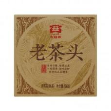 2014, Лао Чатоу, 100 г/кирпич, шу, ч/ф Даи