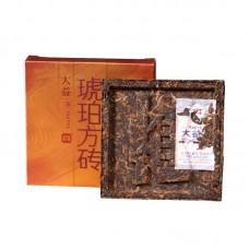 2014, Янтарный слиток (4*60 г), 240 г/упаковка, шу, ч/ф Даи