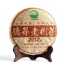 2012, Деревья народности Дэан, 400 г/блин, шу, ч/ф Дэфэн