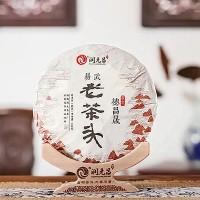 2018, Лао Чатоу 801, 360 г/блин, шу, ч/ф Жуньюань Чан