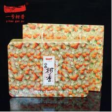 2012, Пуэр в лайме, 430 г/коробка, шу, ч/ф Ихао Ганьпу