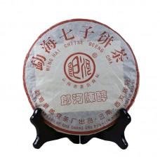 2005, Чай старого склада, 357 г/блин, шу, ч/ф Ланхэ