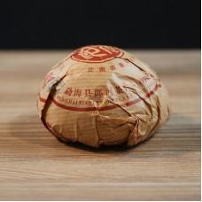 2015, Чай с вершины горы, 100 г/точа, шу, ч/ф Ланхэ