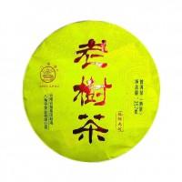 2019, Старое дерево, сырьё Мэнхай-лаошу весна, 357 г/блин, шу, ч/ф Лимин